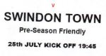 Pre-season friendly