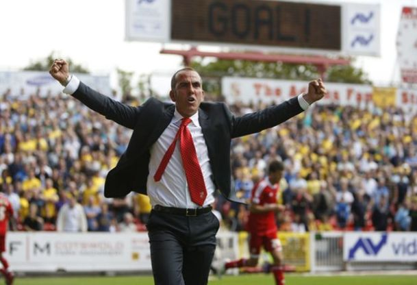 Paolo Di Canio Celebration