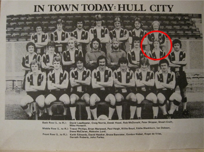 Hull City - my first game