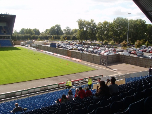 Kassam Stadium fourth stand