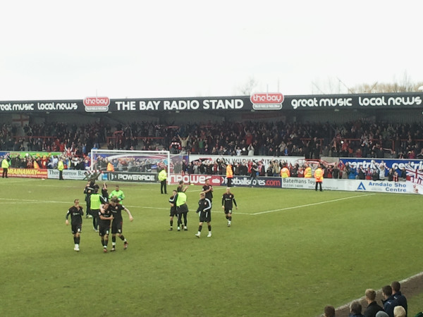 Morecambe 0 Swindon 1: Ugly And Hard-fought, Yet A Vital