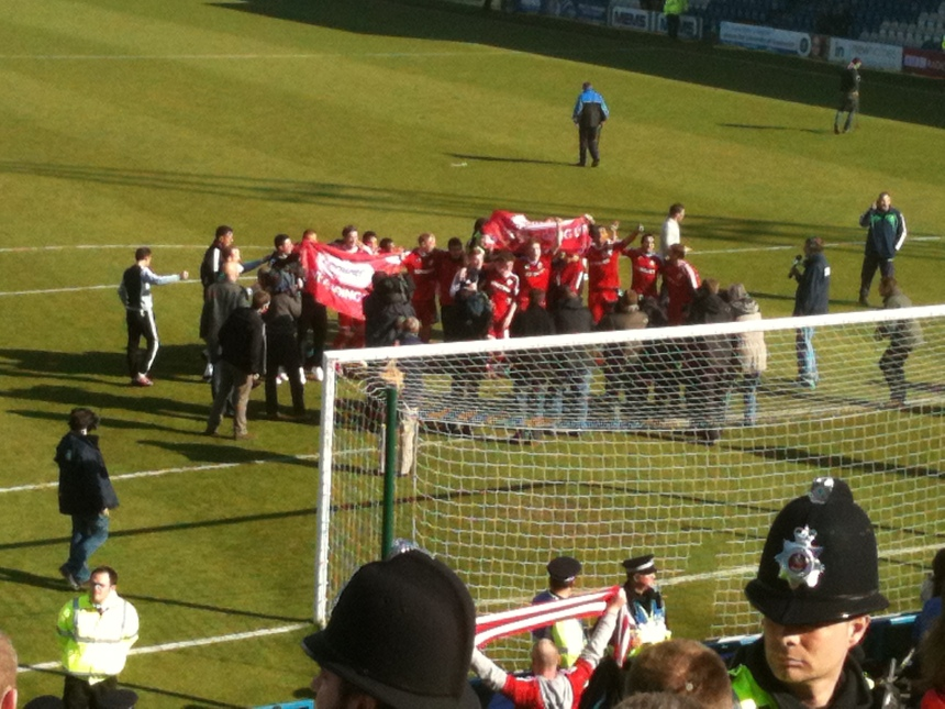 2012.04.21 Gillingham celebrations 2