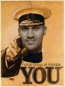Your Goalie Needs You