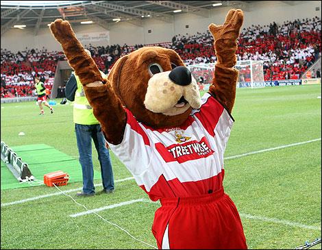 Doncaster Mascot