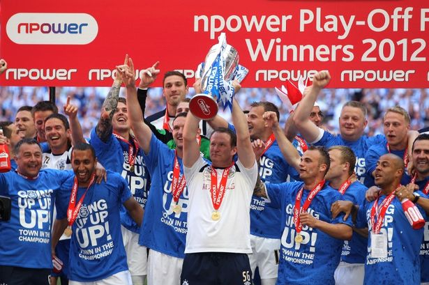 2011-12 League One Play Off Winners - Huddersfield Town