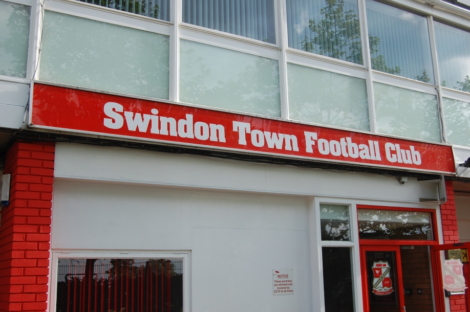 County Ground entrance