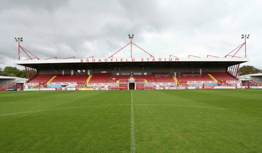 Broadfield Stadium Crawley