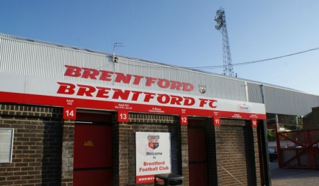 Brentford football ground, griffin park