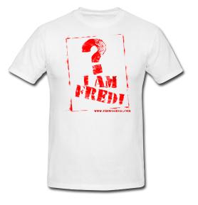 I am Fredi t-shirt