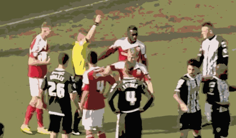 Troy Archibald-Henville Sending Off vs Notts County