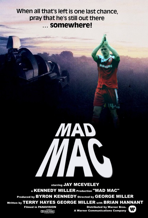 Jay McEveley - Mad Mac Poster