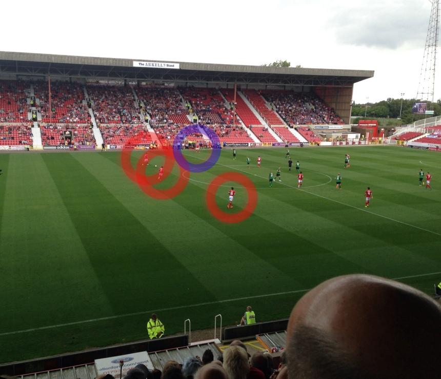 Swindon back 5 against Scunthorpe