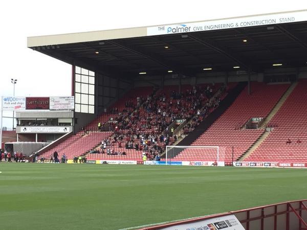 2014.09.27 STFC fans at Barnsley