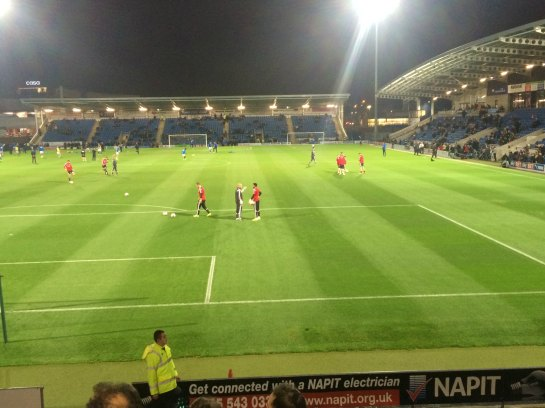 Chesterfield - new ground