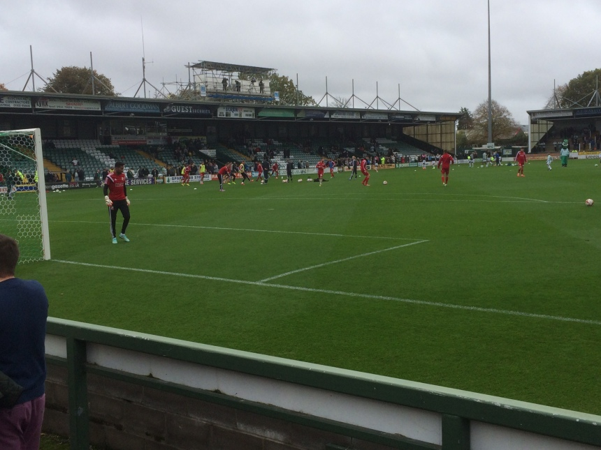 Huish Park Yeovil