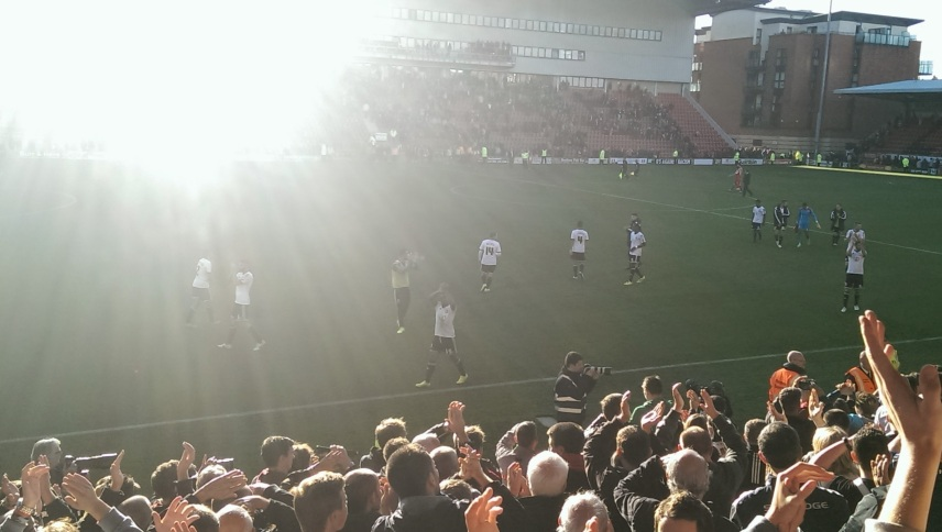 Town end of game celebrations
