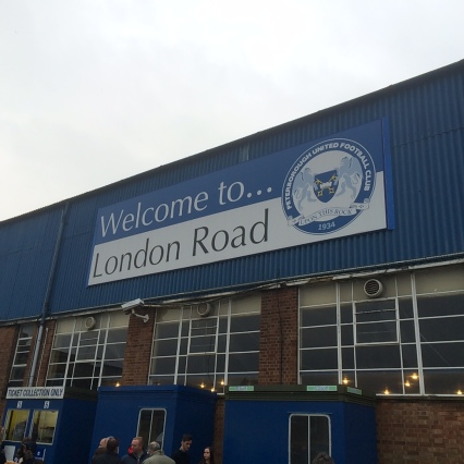 Arriving at London Road