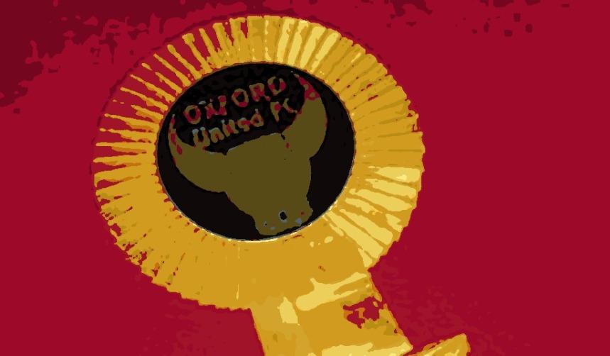 Oxford United Rosette 1