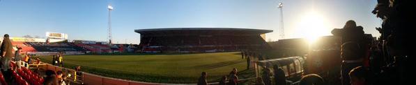 @AlexDernie At the County Ground.