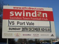 @Wiltsplus Town 1 Port Vale 0 - made hard work of it in the 2nd half but still the much better side. Up The Town !