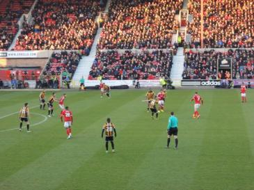 @Kaysie_B The boy Gladwin on the ball. Nice to see the Arkells Stand so full today.