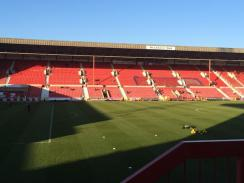 @ScotM87 - Calm before the storm. So so quiet 50 mins before kick off. #STFC