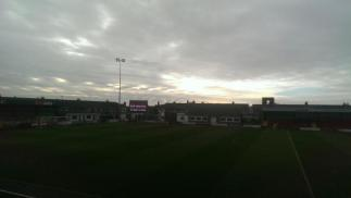 @talkinghawes A ground having to grow up fast..the non TV side of Fleetwood #stfc