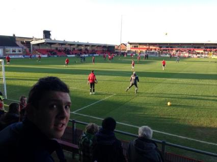 @SelwoodAndy - @thewashbag One of the most helpful and friendly away grounds I've ever been to