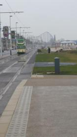 @dphunt we've arrived in 'sunny' Blackpool. Our B & B was eerily deserted! Now for tram up to Fleetwood! #STFC