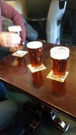 @dphunt88 Three pints of 'Fylde Cracker' ale to get us started. Didn't need to issue a 7 day approach for these though! #STFC