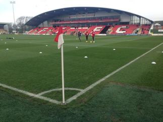 @garrytrinder Cracking pitch #STFC #FTFC @thewashbag