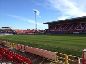 @STFITC The sun's out and the County Grounds ready for action! COYR's