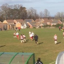 STFC Ladies at Exeter 3