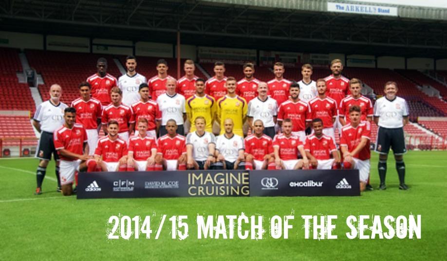 2014-15 Match of the Season