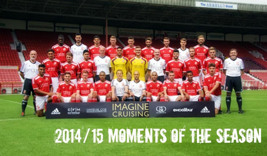 2014-15 Moments of the Season
