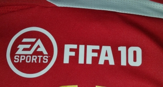 The coolest sponsor we ever had, EA Sports on the rear of the home shirt?