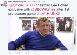 BBC Wiltshire 2015.07.08