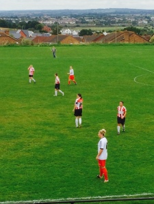 Swindon ladies winning at Exeter City