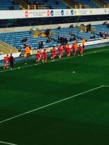 Millwall pre-game