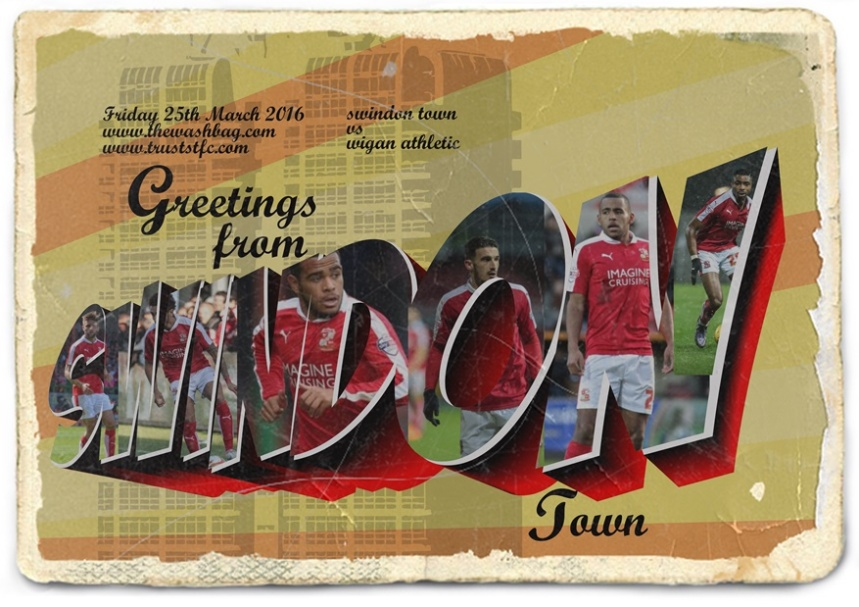 19 - Wigan - greetings from